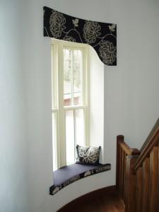 Window Seat and matching pelmet