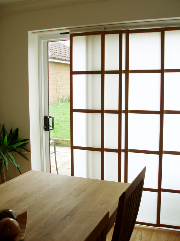 Shoji Blinds Japanese Sliding Panels