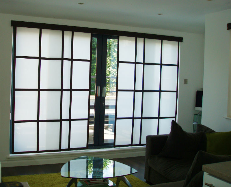 Image gallery shoji blinds for Asian window coverings