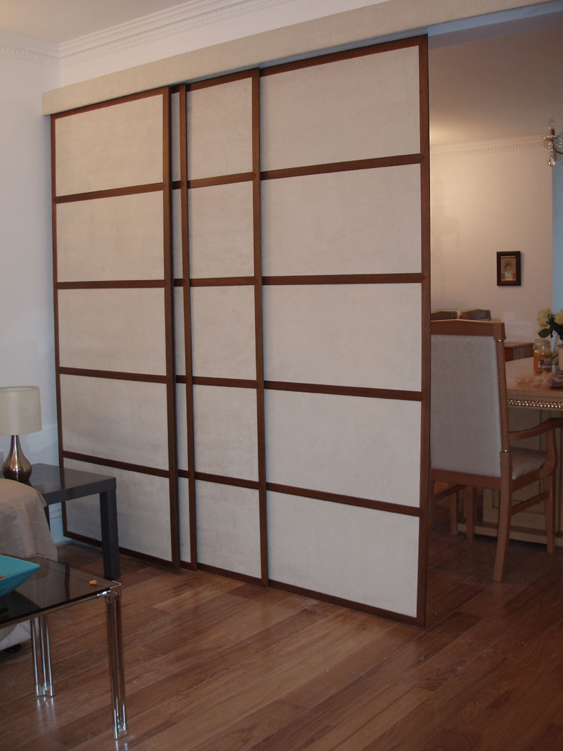 living room shoji room divider japanese sliding panels