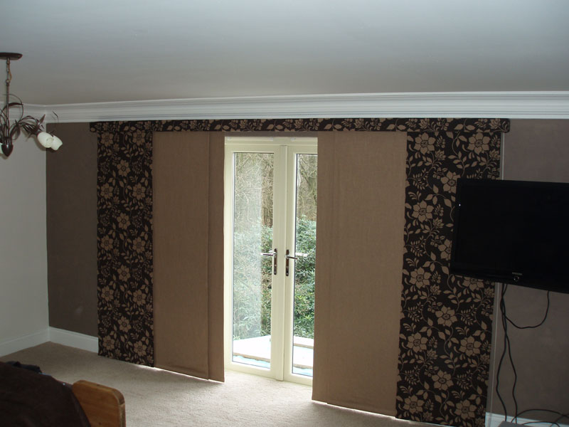 curtain panels japanese sliding panels