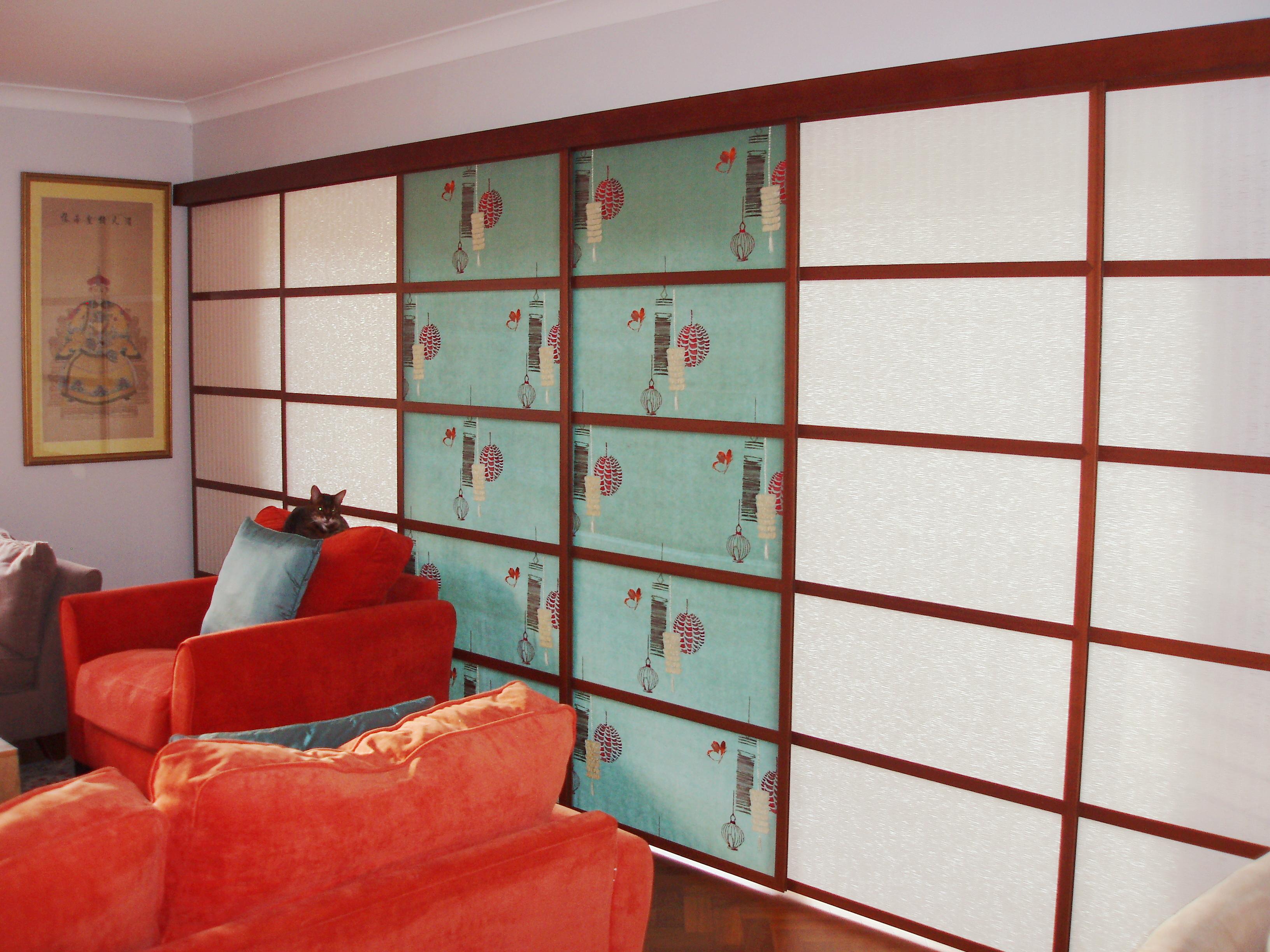 Japanese sliding panels shoji panels amp blinds supplied all over