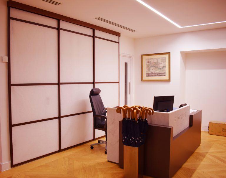 Reception Desk Screens